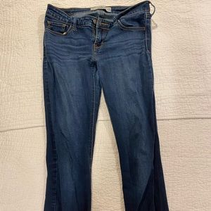 Dark wash American eagle skinny jeans